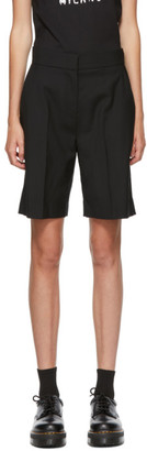 MSGM Black Suiting Shorts