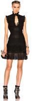 Alexander McQueen Sleeveless Bandage Mini Dress