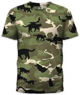 Goodie Two Sleeves Catmouflage (slim fit) T-Shirt Size L