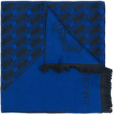 Versace woven patterned scarf - men - Wool - One Size