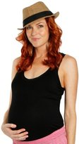 Everly Grey Women's Maggie Ruched Maternity Tank Top