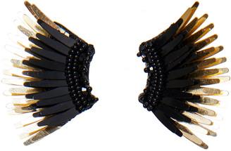Mignonne Gavigan Mini Madeline Statement Earrings, Black/Golden