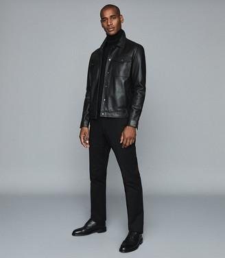 Reiss Eastbury Reg - Regular Fit Chinos in Black