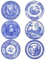 Spode Blue Room Georgian Plates (Set of 6)