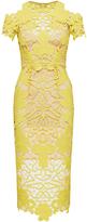 Thurley Hollyhock Open Shoulder Midi Dress