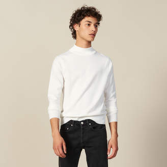Sandro Funnel Neck Sweater