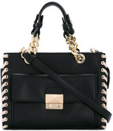 Karl Lagerfeld stylised seam tote bag - women - Leather/Polyurethane - One Size