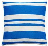 Judy Ross Textiles Cabana Cream/Marine Pillow