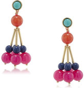 Trina Turk Cluster Bead Drop Post Earring