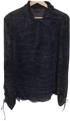 Fendi Purple Silk Tops