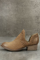 Rebels RB Cathy Tan Leather Cutout Booties