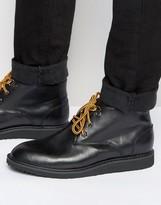 Bellfield Desert Boots In Black Leather