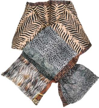 Pierre Louis Mascia quilted animal print scarf