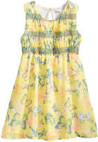 Epic Threads Smocked Butterfly-Print Dress, Little Girls, Created for Macy's