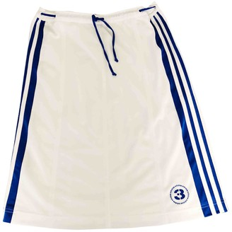 adidas White Synthetic Skirts