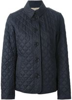 Burberry quilted jacket - women - Polyester/Cotton - L