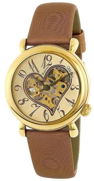 Stuhrling Original Cupid II 109.1235E31 Stainless Steel & Leather 35mm Watch