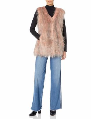 Via Spiga Women's Racoon Vest