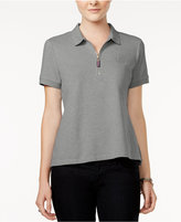 Tommy Hilfiger Zip-Up Polo Top, Only at Macy's