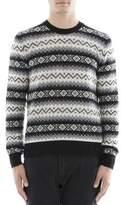 Alexander McQueen Men's Multicolor Cashmere Sweater.
