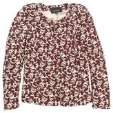 Isabel Marant Burgundy Silk Jacket