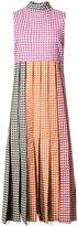 Christopher Kane gingham dress - women - Silk/Cotton/Acetate - 40