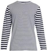 Blue Blue Japan Striped cotton-blend T-shirt