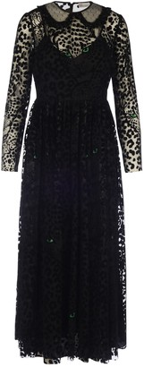RED Valentino Long Tulle Leopard Print