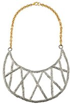 Pamela Love Rope Crescent Collar Necklace