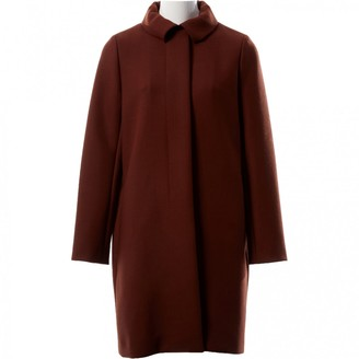 Chloé Brown Wool Coat for Women