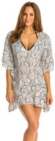 Vix Paula Hermanny Serpent Off White Malud Cover Up Caftan 8132792