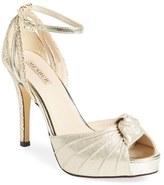 Menbur Women's 'Aguilera' Platform Peep Toe Sandal