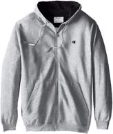 Champion Men's Big-Tall Full Zip Fleece Hoodie