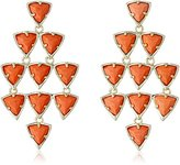 "Kendra Scott Via Maya"" Coral Vale Drop Earrings"