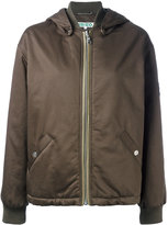 Kenzo short parka jacket - women - Cotton/Polyester/Acetate - M