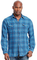 Polo Ralph Lauren Big & Tall Indigo Plaid Twill Workshirt