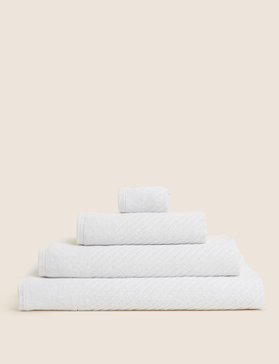 Marks and Spencer Cotton Rich Plush Quick Dry Towel