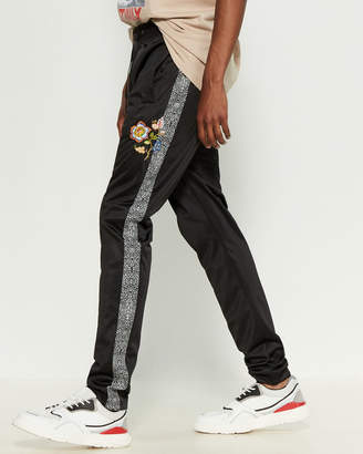 Yrn Crackle Stripe Track Pants
