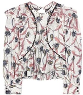 Isabel Marant Uster printed cotton blouse