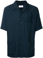 Lemaire lapel shirt - men - Rayon - 46