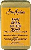 Shea Moisture Raw Shea Butter Bar Soap-8 Oz (Pack of 2)