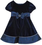 Rare Editions Velvet & Taffeta Dress, Toddler Girls (2T-4T) & Little Girls (2-6X)