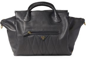 Jerome Dreyfuss Guillaume Quilted Pebbled-leather Tote