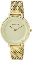 Skagen Women's SKW2333 Ditte Gold Mesh Watch