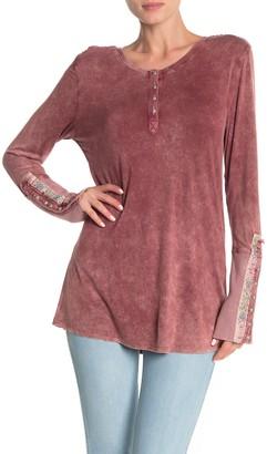 Aratta Burnished Long Sleeve T-Shirt