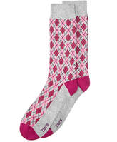 Bar III Men's Check Argyle Socks, Created for Macy's
