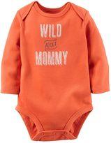 Carter's Baby Boy Long Sleeve Graphic Bodysuit