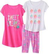 Girls 4-16 SO® Cupcake Pajama Set