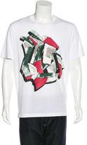 Lanvin Graffiti Print T-Shirt