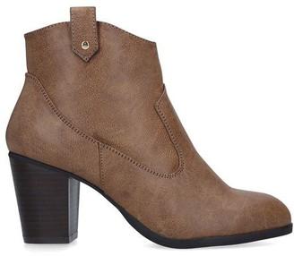 miss kg platform heeled ankle boots